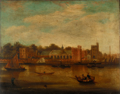 Lambeth Palace, London by unknown - print