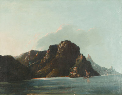 View of Resolution [Vaitahu] Bay in the Marquesas by William Hodges - print