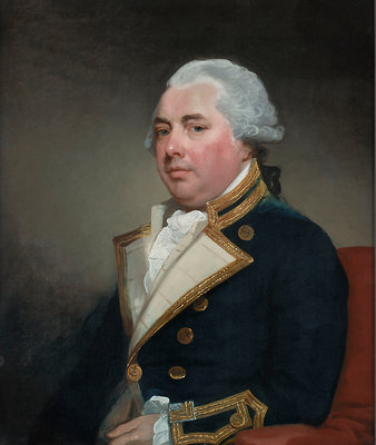 Captain Sir William Abdy, Bt (circa 1735-1803) by Gilbert Stuart - print
