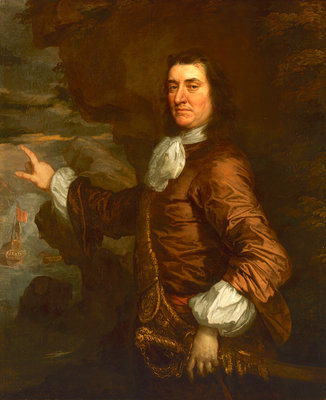 Flagmen of Lowestoft: Admiral Sir Thomas Allin (1612-1685) by Peter Lely - print