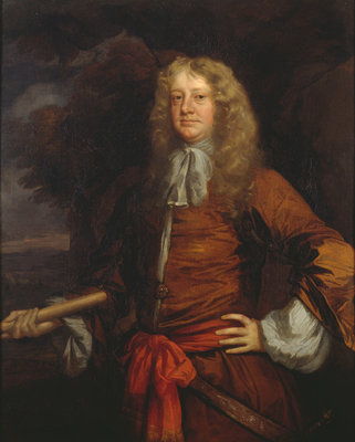 Flagmen of Lowestoft: Admiral Sir George Ayscue (active 1646-1671) by Peter Lely - print