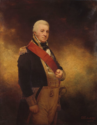 Admiral the Honourable Sir Alexander Cochrane (1758-1832) by William Beechey - print