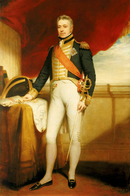 Admiral of the Fleet Sir George Cockburn (1772-1853) by William Beechey - print