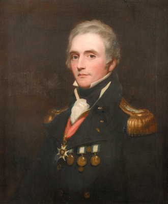 Captain Edward Berry (1768-1831) by Thomas Phillips - print