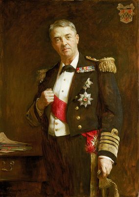 Admiral Sir John Fisher (1841-1920) by Arthur Stockdale Cope - print