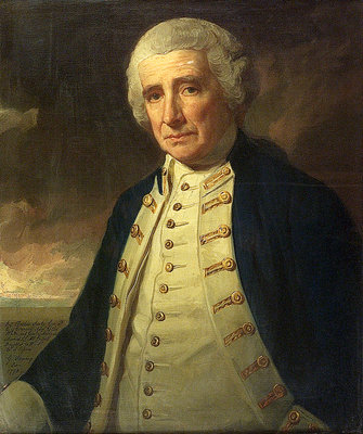 Admiral John Forbes (1714-1796) by George Romney - print