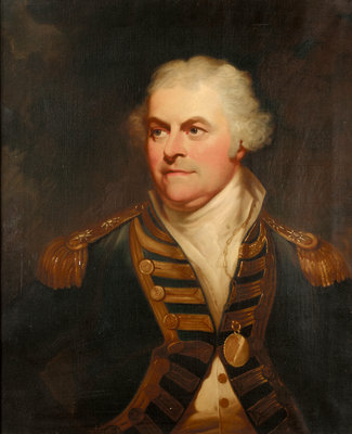 Vice-Admiral Lord Alan Gardner (1742-1809) by William Beechey - print