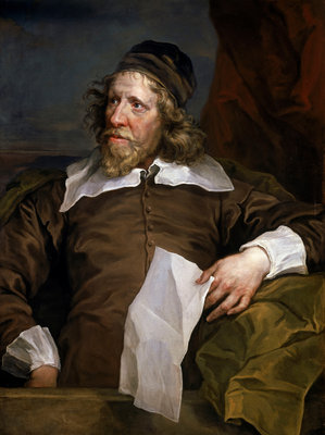 Inigo Jones (1573-1652) by William Hogarth - print