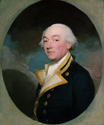 Captain William Locker (1731-1800) by Gilbert Stuart - print