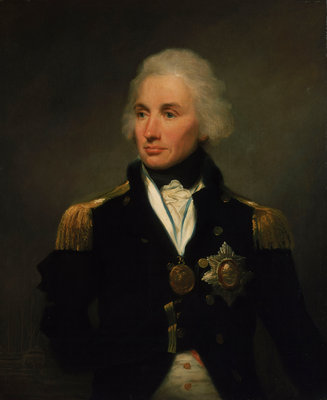 Vice-Admiral Horatio Nelson, 1st Viscount Nelson (1758-1805) by Lemuel Francis Abbott - print