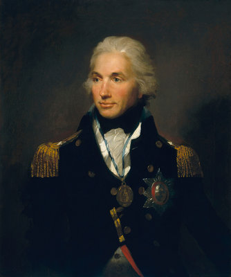 Rear-Admiral Horatio Nelson, 1st Viscount Nelson (1758-1805) by Lemuel Francis Abbott - print