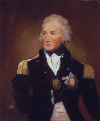 Rear-Admiral Sir Horatio Nelson (1758-1805) by Lemuel Francis Abbott - print