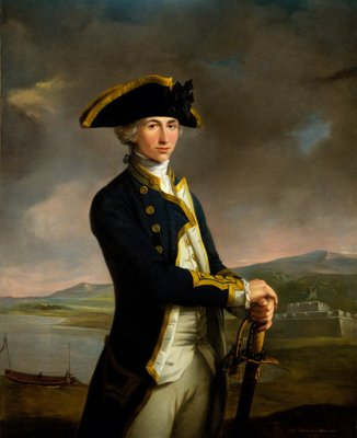 Captain Horatio Nelson (1758-1805) by John Francis Rigaud - print