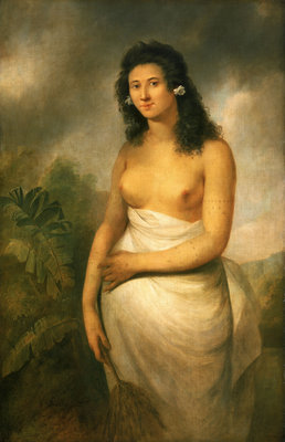 Poedooa, the Daughter of Oree, (b. circa 1758) Wall Art & Canvas Prints by John Webber