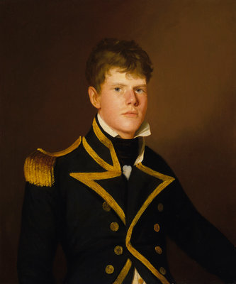 Captain Peter Rainier (1784-1836) by Thomas Hickey - print