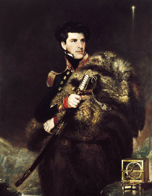 Commander James Clark Ross (1800-1862) by John R. Wildman - print