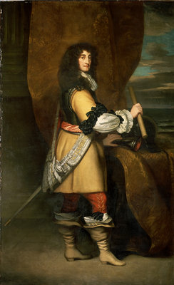 Prince Rupert, 1st Duke of Cumberland and Count Palatine of the Rhine (1619-1682) by Peter Lely - print