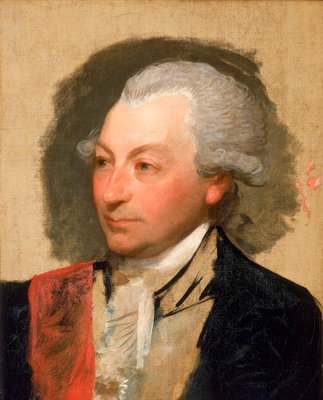 Captain Sir John Jervis (1735-1823) by Gilbert Stuart - print