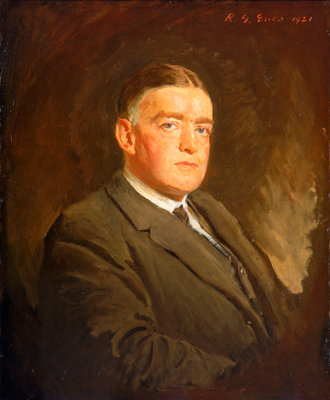 Sir Ernest Henry Shackleton (1874-1922) by Reginald Grenville Eves - print