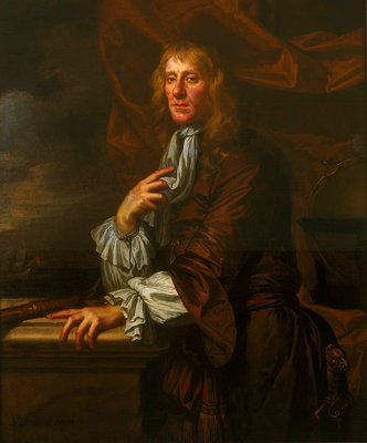 Flagmen of Lowestoft: Sir Jeremiah Smith (d. 1675) by Peter Lely - print