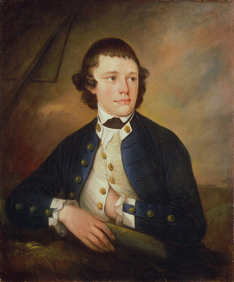 Midshipman James Ward (circa 1759-1806) Fine Art Print by John Webber