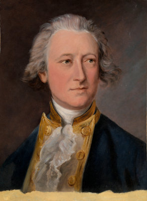 Captain the Hon. Charles Phipps by Thomas Gainsborough - print