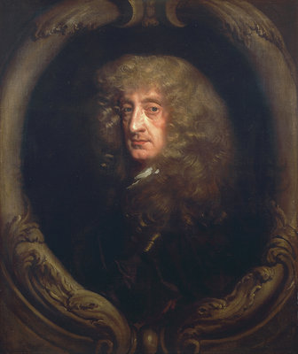 Portrait of a gentleman by Peter Lely - print