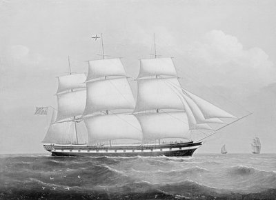 The ship 'Ellenborough' by unknown - print