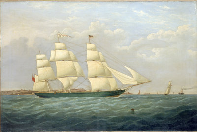 The clipper 'Matilda Wattenboch' by British School - print