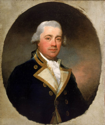 Captain John Harvey (1740-1794) by Gilbert Stuart - print