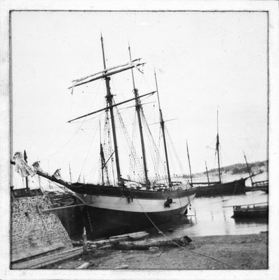 Schooner 'WML' by unknown - print
