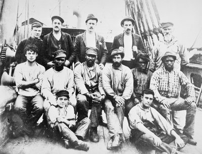 Crew of the 'Cawdor' by unknown - print