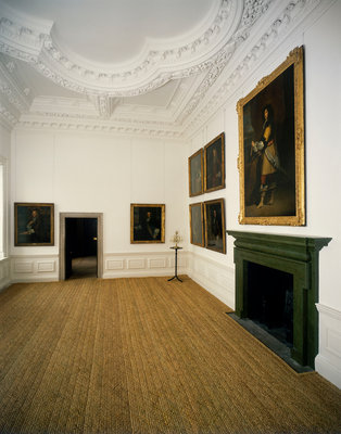 The Queen's House interior by unknown - print