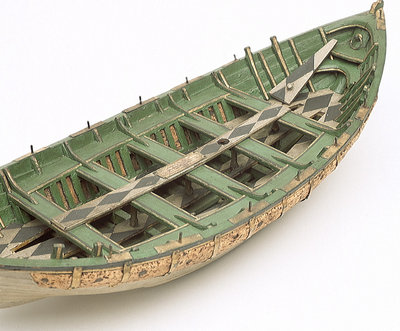 Full hull model, Greathead lifeboat, interior by Henry Greathead - print