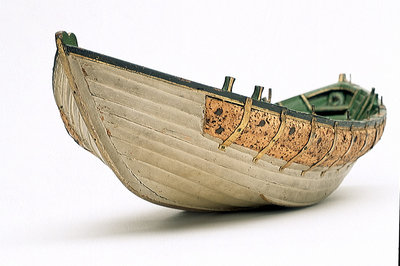 Full hull model, Greathead lifeboat by Henry Greathead - print