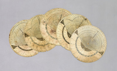 Astrolabe plates by Muhammad Khalil - print