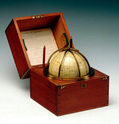 Sphere and box by Cary & Co - print