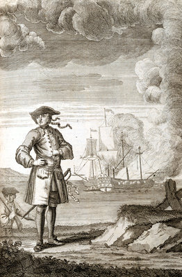 Captain Edward England by unknown - print