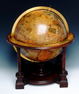 Sphere and stand by Gerard Mercator - print