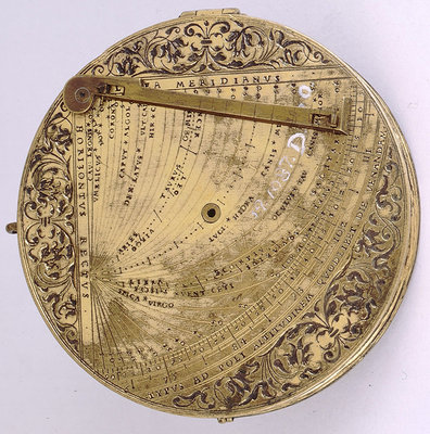 Astronomical compendium, leaf Ia by Christoph Schissler - print