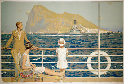 Gibraltar by Charles Pears - print