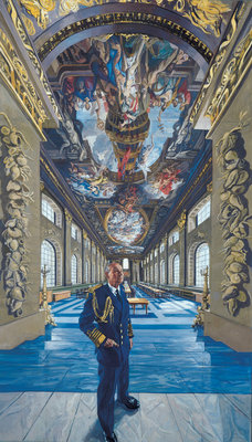 Admiral of the Fleet Terence Thornton Lewin, 1920-1999, Baron Lewin of Greenwich, KG, GCB, LVO, DSC by John Wonnacott - print