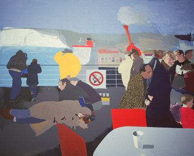 The First of England, 1998 by Humphrey Ocean - print