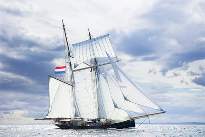 'Wylde Swan' during North Sea Tall Ships Regatta 2010 by Richard Sibley - print