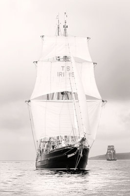 'Asgard ll' during Tall Ships Race 2005, Waterford by Richard Sibley - print