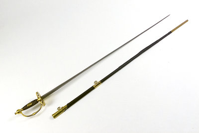 Small-sword of Civil Branch of Royal Navy (Secretary) by Dudley - print