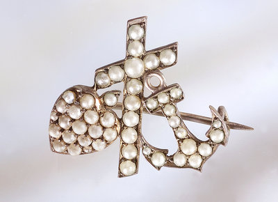 Brooch by unknown - print