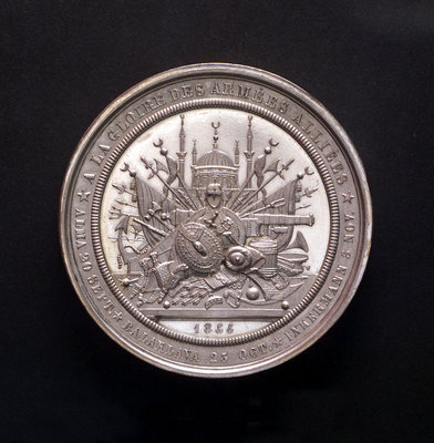 Medal commemorating the Black Sea freed, 1854; obverse by L.J. Hart - print