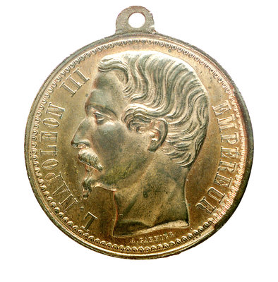 Medal commemorating the Crimean War (1854-1856); obverse by A. Garnier - print