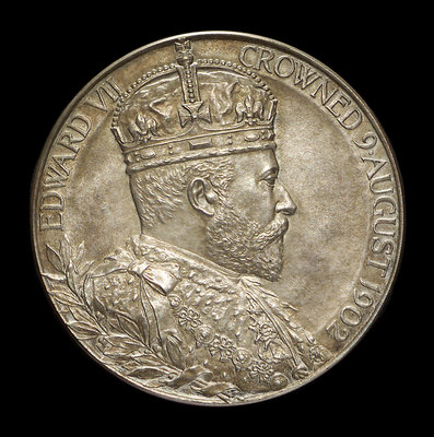 Medal commemorating the tercentenary of the destruction of the Spanish Armada, 1888; obverse by unknown - print